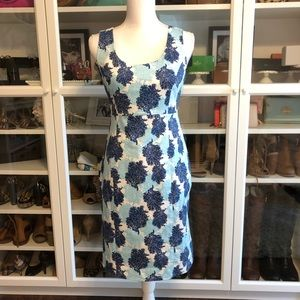 Vineyard Vines Blue Coral Dress